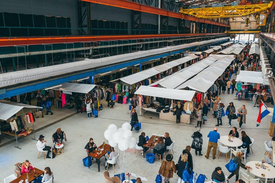 Marktkramen huren Rotterdam