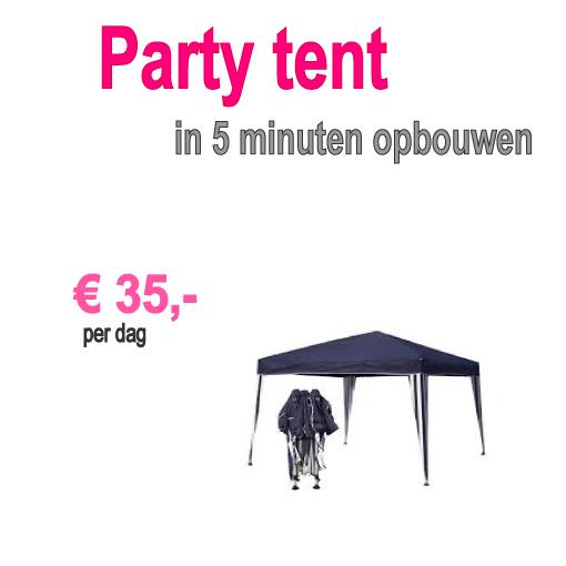 partytent huren Noordwijk